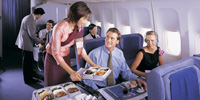 In-Flight Services Food 2
