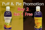 Puff & Pie Promotion Buy 2 Get 1 Free