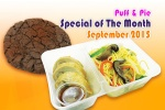 Puff & Pie Special of The Month September 2015